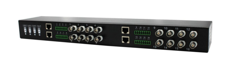 Dahua PFM809-4MP BALUN 16fach Übertrager für Video/Spannung/Data / über CAT5/RJ45