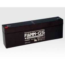 FIAMM Notstromakku Blei-Gel 12V 2 Ah VdS G191099 / Wartungsfrei für Dauerpufferung AAAKBR