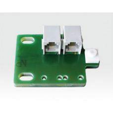 """Teracom TSH203 Tempeperatur & LuftfeuchtigkeitsFühler / 19"""" Rack-Montage, Anschluss RJ11 ("""