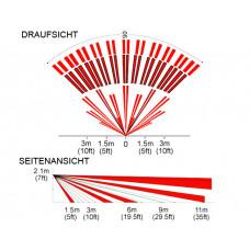 Ersatzlinse Tierimmun für DG85 und PMD85 / 11m/90°, PET bis 40kg
