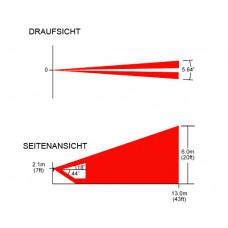 Ersatzlinse Vertikal für DG85 und PMD85 / Erfassungsbereich 13m/5,64°