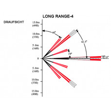 Bewegungsmelder Linse Long Range 30,4m / für DG65, QU60, PMD1, PMD2P