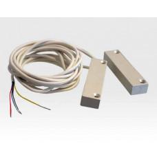 Magnetkontakt verdrahtet Aufbau HD ALU schwer / EN 50131 Grad2