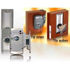 Biometrischer Fingerabdruckleser mit Schliesseinheit