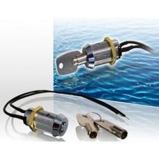Einbau-Schlüsselschalter Pulskontakt / Codierte Schlüssel