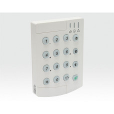 Bedienteil Funk 868MHz bidirektional, LED für Status-Anzeige / für MMS-Kit, EN50131 Grad2