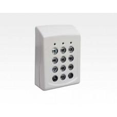 Funk Codetastatur mit 99 Benutzer Rolling Code für FAEMXP*RX2 / 12/24V AC/DC oder Batterie FABTXX*LIT09