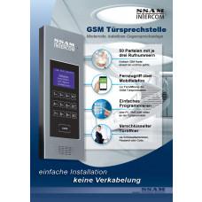 GSM Türsprechstelle von 1er bis 50 Parteien  / PDF Download kostenfrei