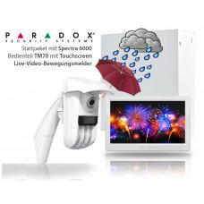 Paradox Alarmsystem - Perimeterabsicherung mit Alarm-Video - Die professionelle Lösung
