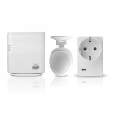 Technikraumüberwachung mit kombiniertem Bewegungs- / Helligkeitsmelder