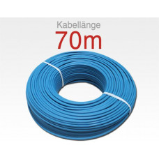 Koaxialkabel mini RG59 blau  HD-SDI & easyHD Ready / VE 70m Bund - 3,5mm 75Ohm