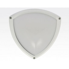 10W LED Wand/Deckenleuchte weiß dreieckig Tageslicht Weiß / 6000-6500K 450lm 230VAC IP65 120Grad