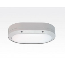 5W LED Wand/Deckenleuchte weiss oval Tageslicht Weiß / 6000-6500K 225lm 230VAC IP54 120Grad