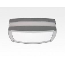 10W LED Wand/Deckenleuchte grau rechteckig Tageslicht Weiß / 6000-6500K 450lm 230VAC IP54 120Grad