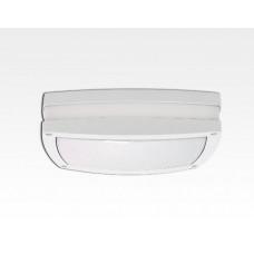 10W LED Wand/Deckenleuchte weiss rechteckig Tageslicht Weiß / 6000-6500K 450lm 230VAC IP54 120Grad