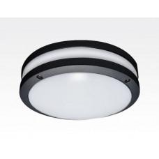 20W LED Wand/Deckenleuchte anthrazit rund Tageslicht Weiß / 6000-6500K 900lm 230VAC IP54 120Grad
