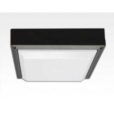 20W LED Wand/Deckenleuchte anthrazit quadr. Tageslicht Weiß / 6000-6500K 900lm 230VAC IP54 120Grad