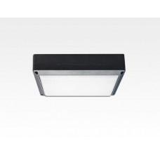 5W LED Wand/Deckenleuchte anthrazit rechteckig Warm Weiß / 2700-3200K 225lm 230VAC IP54 120Grad