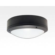 30W LED Wand/Deckenleuchte anthrazit rund Warm Weiß / 2700-3200K 1350lm 230VAC IP65 120Grad