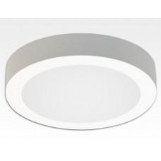 18W LED Aufbauleuchte weiß rund dimmbar Neutral Weiß / 4200-4700K 1530lm 230VAC IP40 110Grad