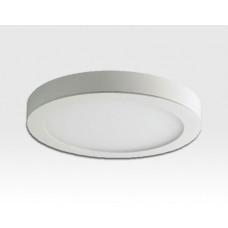 14W LED Aufbau Paneelleuchte weiß rund Neutral Weiß / 4000-4500K 1055lm 230VAC 100Grad