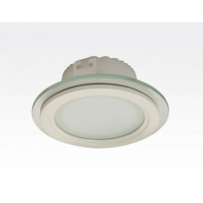 12W LED Einbau Downlight weiß rund dimmbar Neutral Weiß / 4200-4700K 1150lm 230VAC IP44 110Grad