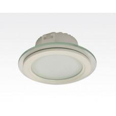 12W LED Einbau Downlight weiß rund dimmbar Warm Weiß / 2700-3200K 1030lm 230VAC IP44 110Grad