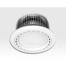 15W LED Einbau Downlight weiß rund dimmbar Warm Weiss / 2700-3200K 1350lm 230VAC 120Grad