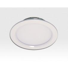 10W LED Einbau Downlight weiß rund Warm Weiss / 2700-3200K 806lm 230VAC 120Grad