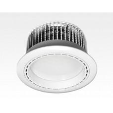 36W LED Einbau Downlight weiß rund Warm Weiss / 2700-3200K 3240lm 230VAC 120Grad
