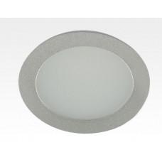 20W LED Einbau Downlight silber rund Warm Weiß / 2500-3300K 1600lm 230VAC 120Grad