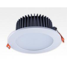 15W LED Einbau Downlight weiß rund dimmbar Neutral Weiss / 4000-4500K 1050lm 230VAC IP40 120Grad