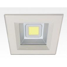 30W LED Einbau Downlight weiß quadratisch Neutral Weiß / 4000-4500K 1800lm 230VAC IP44 120Grad