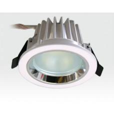 3W LED Einbau Downlight weiß rund Warm Weiß / 2700-3200K 180lm 230VAC IP44 120Grad -Ausstellungsstück mit kleinen Schönheitsfehlern