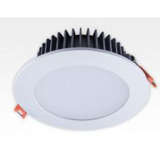 15W LED Einbau Downlight weiß rund dimmbar Warm Weiss / 2700-3200K 1050lm 230VAC IP40 120Grad