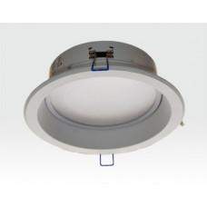 9W LED Einbau Downlight weiß rund Warm Weiß / 2700-3200K 585lm 230VAC IP40 120Grad-Ausstellungsstück mit kleinen Schönheitsfehlern