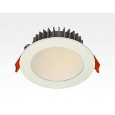 6W LED Einbau Downlight weiß rund dimmbar Warm Weiß / 2700-3200K 420lm 230VAC IP40 120Grad