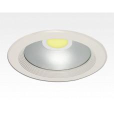 20W LED Einbau Downlight weiß rund Warm Weiß / 2700-3200K 1200lm 230VAC IP44 120Grad