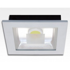 18W LED Einbau Downlight weiß quadratisch Warm Weiß / 2700-3200K 1170lm 230VAC IP40 120Grad