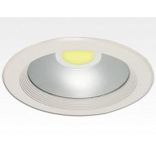 30W LED Einbau Downlight weiß rund Warm Weiß / 2700-3200K 1800lm 230VAC IP44 120Grad