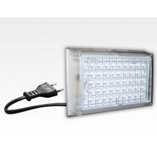StartKlar LED Notbeleuchtung leuchtet bei Netzspannungsausfall  / 174x114x34mm EN60598 mit Euro-Stecker