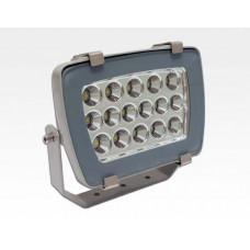16W LED Strahler Neutral Weiss 1280lm 60Grad / 4000-4500K IP65 230VAC 210x175x115mm