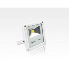 10W LED Strahler Warm Weiß 120Grad Verkehrsweiß / 2700-3200 K 615lm IP65 230VAC