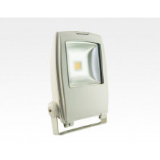 50W LED Strahler Warm Weiß 120Grad Verkehrsweiß / 2700-3200 K 3764lm IP65 230VAC