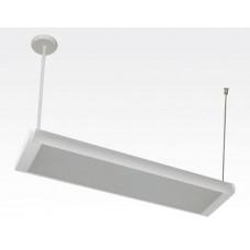 20W LED Lichtbalken Weiß abhängend 120Grad Neutral Weiß / 4000-4500K 1640lm 230VAC L614mm
