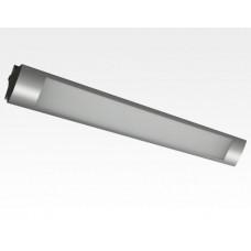 10W LED Lichtbalken Silber 120Grad Warm Weiß / 2800-3200K 760lm 230VAC L646mm
