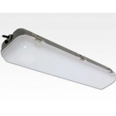 30W LED Feuchtraum Wannenleuchte Kunststoff Neutral Weiß / IP65 230VAC mit Bewegungssensor 675mm