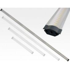 10W LED Lichtleiste 100cm 650lm Neutral Weiß / 12VDC 100Grad