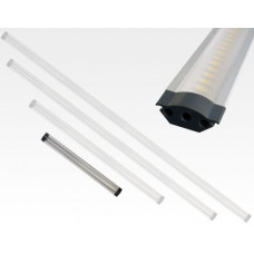 3W LED Lichtleiste 30cm 195lm Warm Weiß / 12VDC 100Grad