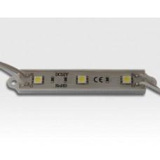 57,6W LED Kette mit 80 Modulen Tageslicht Weiss 115Grad / 5500-6500K 12VDC 48lm/Modul IP65